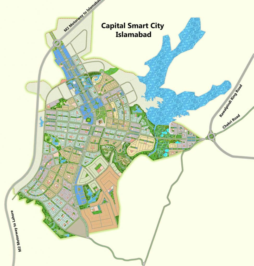 Capital Smart City Location map